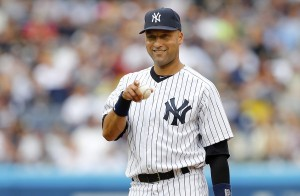 FILE: Jeter Signed To One-Year $12 Million Deal Tampa Bay Rays v New York Yankees