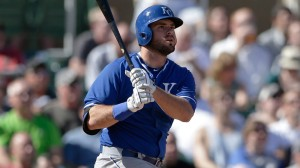 Mike Moustakas, Miguel Montero