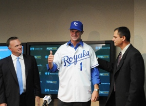 Bubba Starling signing and press conference