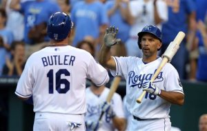 Billy Butler, Raul Ibanez