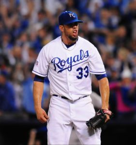 Royals Divison Postseason 2014 vs Angels Game 3 KC