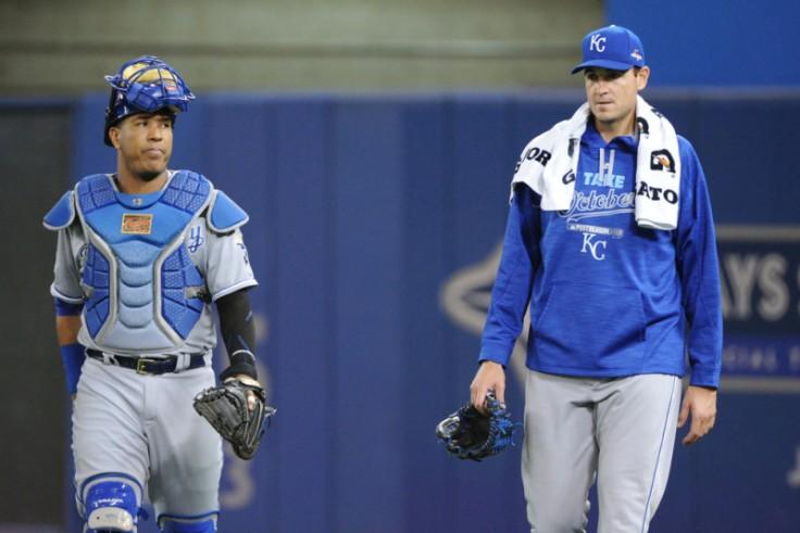 MLB: OCT 20 ALCS - Game 4 - Royals at Blue Jays