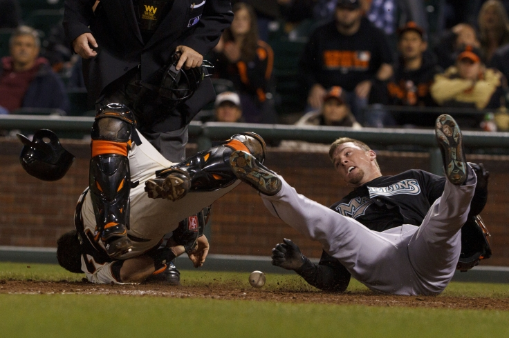 MLB: Florida Marlins at San Francisco Giants