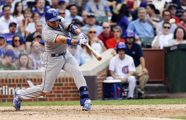 MLB: Kansas City Royals at Chicago Cubs