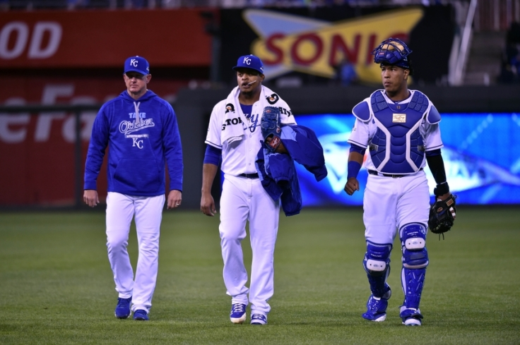 MLB: ALCS-Toronto Blue Jays at Kansas City Royals