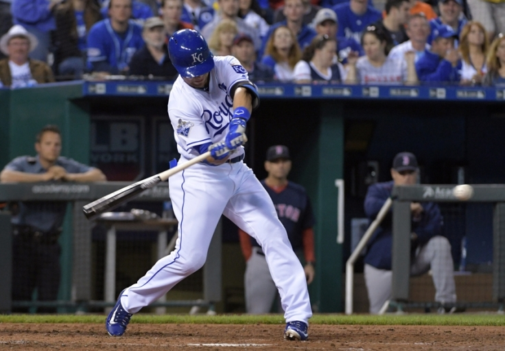 MLB: Game two-Boston Red Sox at Kansas City Royals