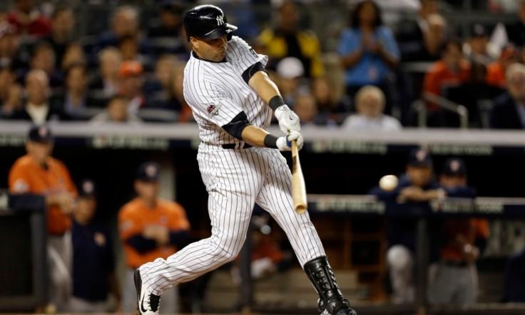 USP MLB: AL WILD CARD GAME-HOUSTON ASTROS AT NEW Y S BBA USA NY