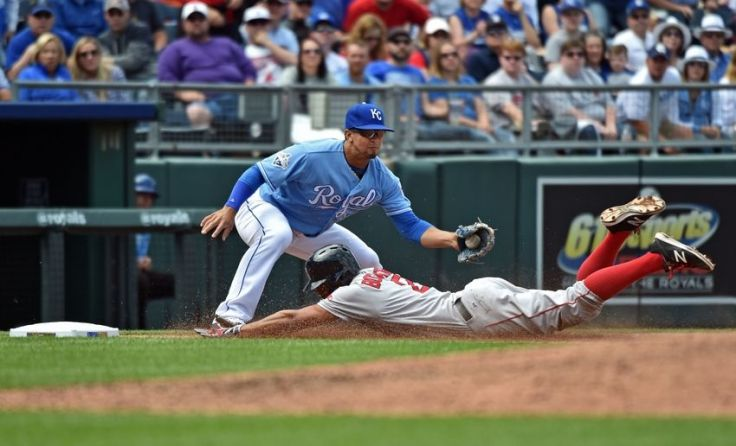 MLB: Boston Red Sox at Kansas City Royals-Game One
