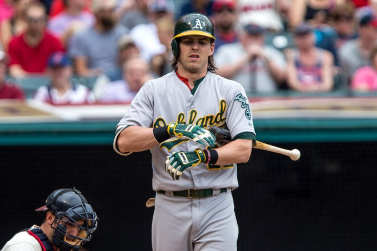 MLB: JUL 12 Athletics at Indians