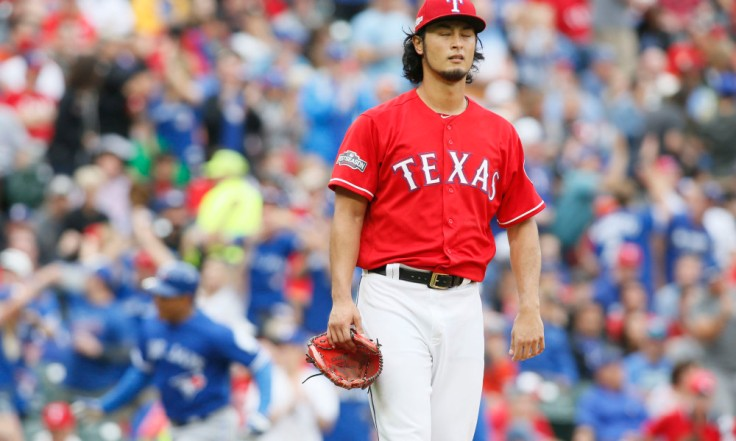 USP MLB: ALDS-TORONTO BLUE JAYS AT TEXAS RANGERS S BBA USA TX
