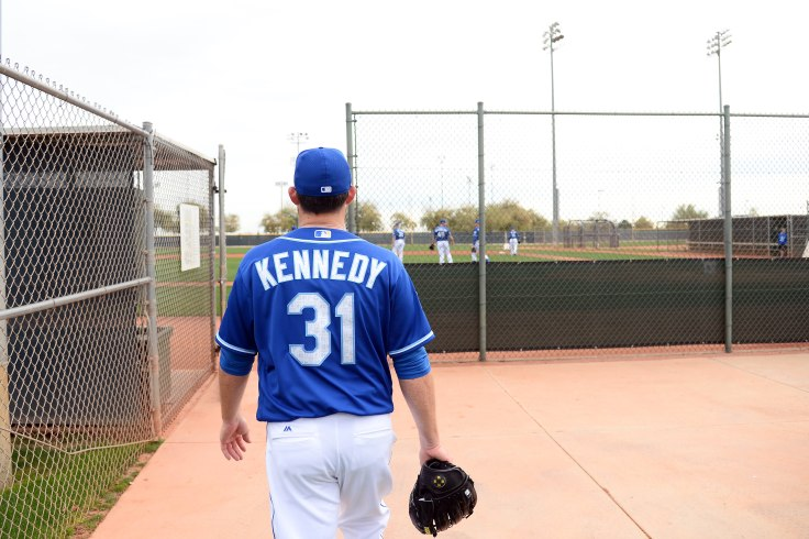 MLB: Kansas City Royals-Workouts