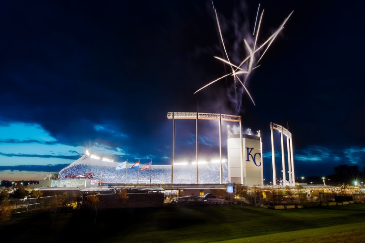 KC Royals VS NY Mets, Game 2, 2015 World Series