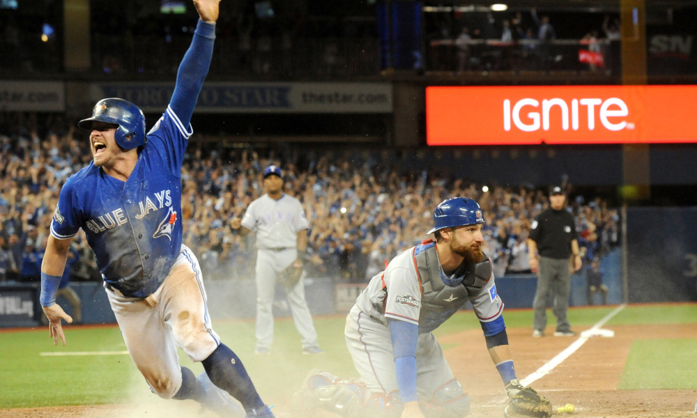 USP MLB: ALDS-TEXAS RANGERS AT TORONTO BLUE JAYS S BBA CAN ON