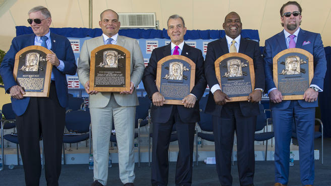 MLB: Baseball Hall of Fame-Induction Ceremony