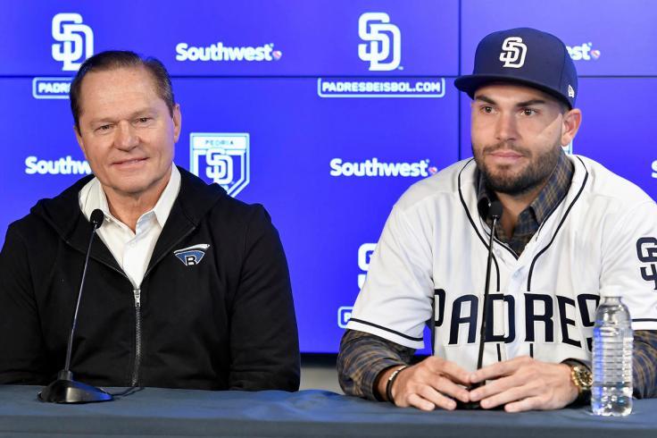 Padres Hosmer Baseball