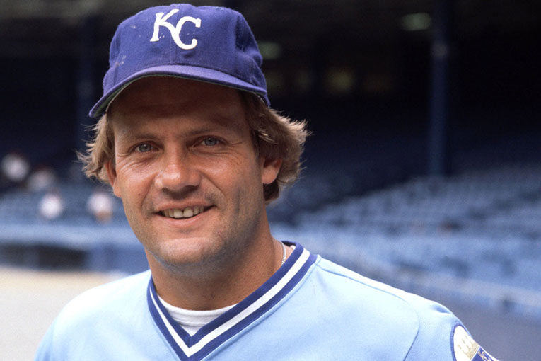Closeup Of George Brett