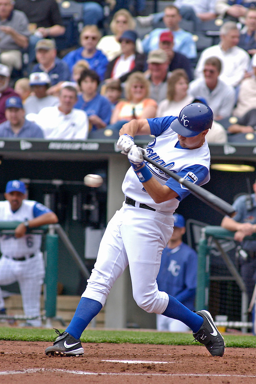 Royals catcher Brent Mayne.