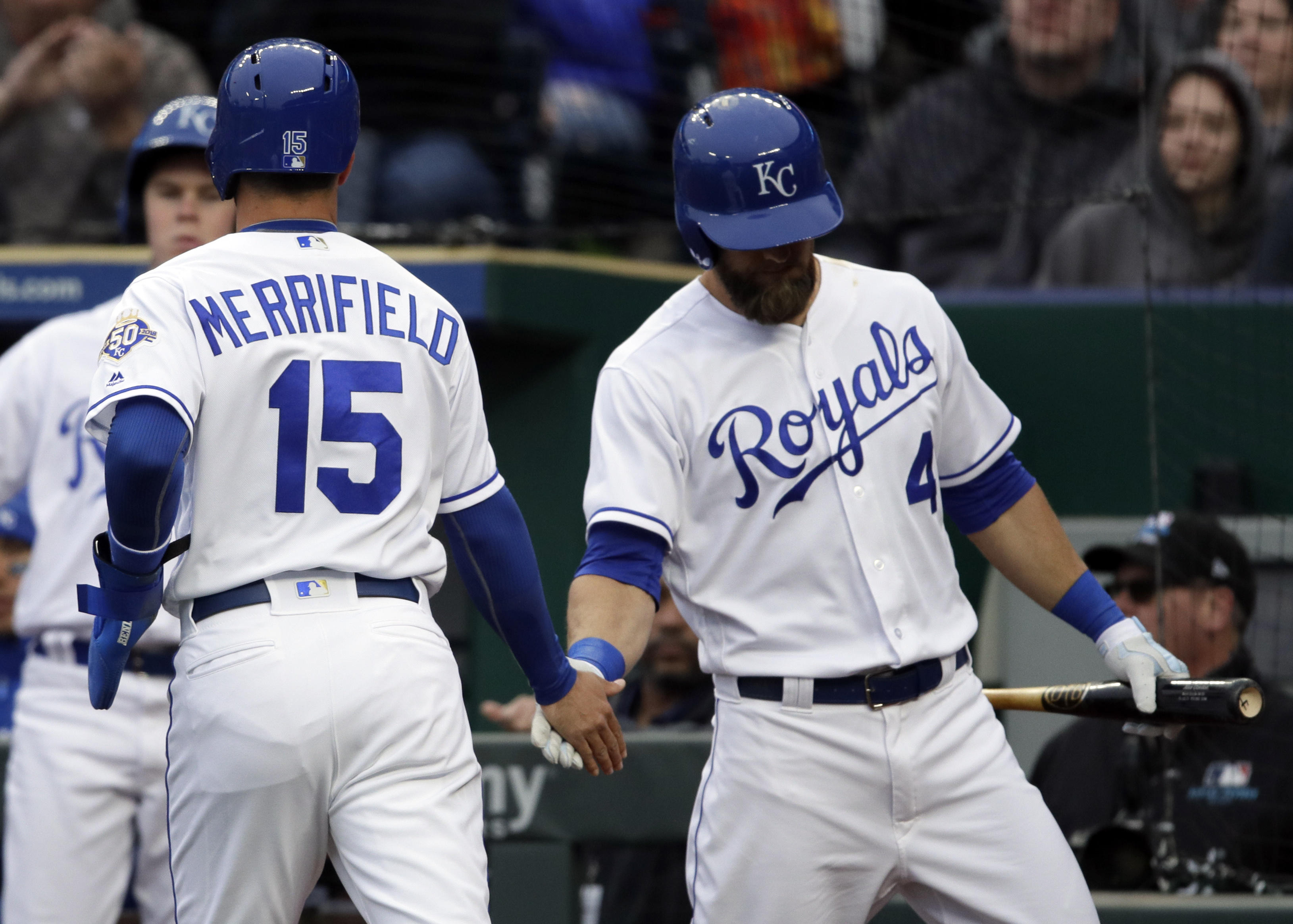 Whit Merrifield, Alex Gordon